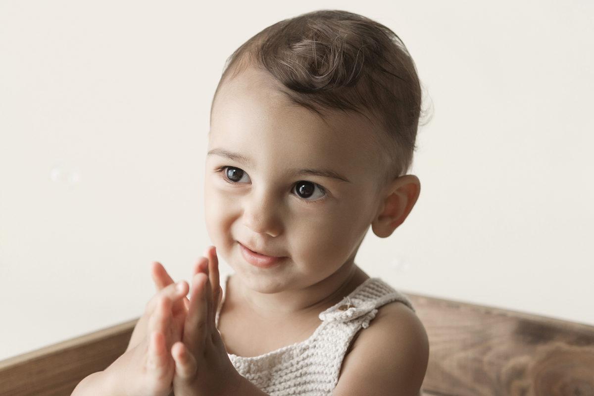 seance photo pour les 1 an de bebe