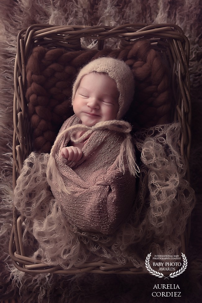 Aurélia C. Photographies gagnante concours international Baby photo awards