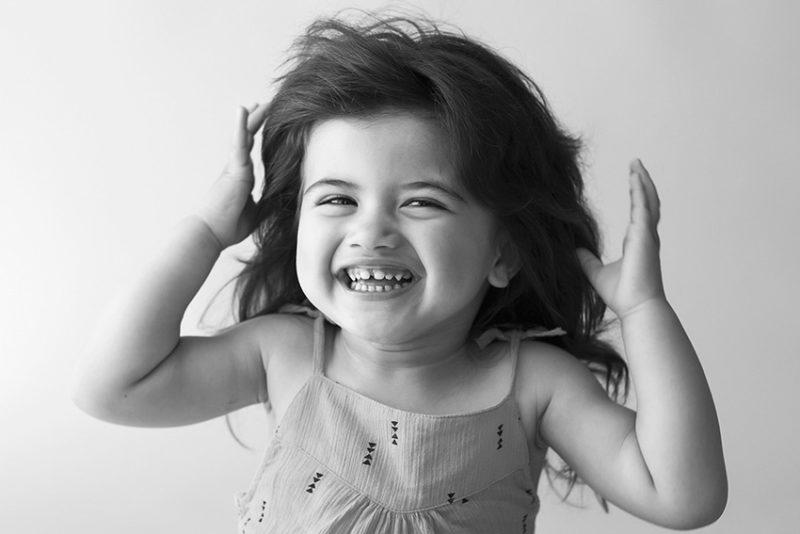 portrait enfant anniversaire deux ans